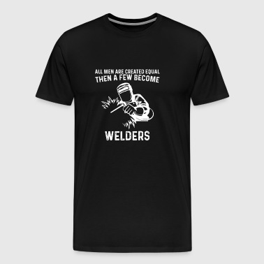 welder - gift - Men's Premium T-Shirt