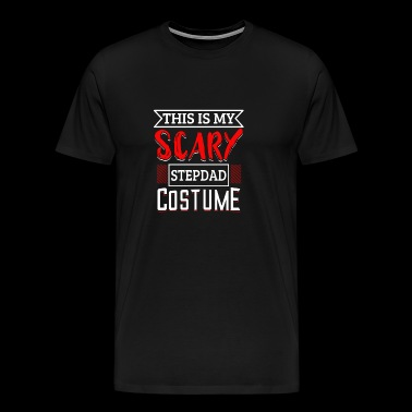 This Is My Costume - This is My Scary Stepdad - Men's Premium T-Shirt