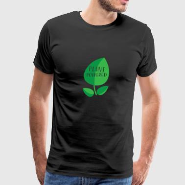 Plant Powered gift for Vegetarians - Men's Premium T-Shirt