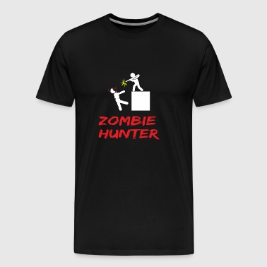 ZOMBIE hunter - Men's Premium T-Shirt
