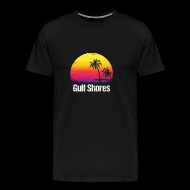 Summer Vacation Gulf Shores Shirts - Men's Premium T-Shirt