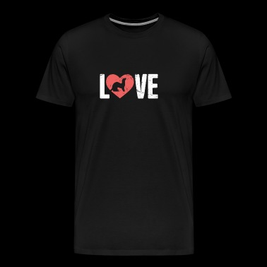 LOVE Pet Ferret - Men's Premium T-Shirt