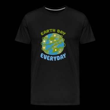 Earth Day Every Day - Men's Premium T-Shirt