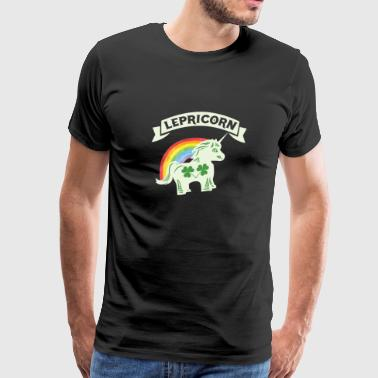 Lepricorn St Pattys Leprechaun Unicorn - Men's Premium T-Shirt