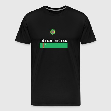 Turkmenistan eng sport - Men's Premium T-Shirt