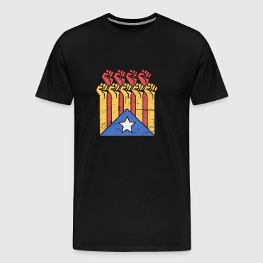 Independence For Catalonia | Catalunya Flag - Men's Premium T-Shirt