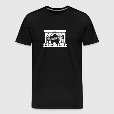 Theater Girl | Stage Drama - Men's Premium T-Shirt