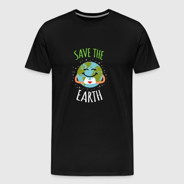 Save The Earth - Earth Day - Men's Premium T-Shirt