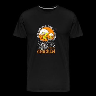 Chicken Shirt, Zombies To Save My Chicken Shirt - Men's Premium T-Shirt