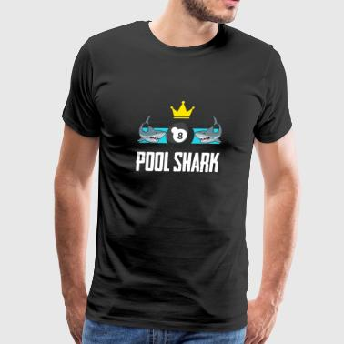 Billiard Pool - Pool Shark - Men's Premium T-Shirt