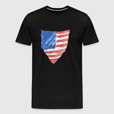 Pennant 4th July - Men's Premium T-Shirt