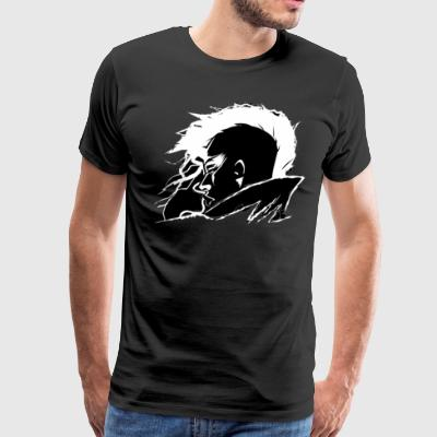She s Riding the Lightning - Men's Premium T-Shirt