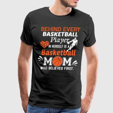 Basketball Mom T Shirt - Men's Premium T-Shirt