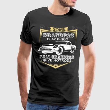 Grandpas Play Bingo T Shirt - Men's Premium T-Shirt