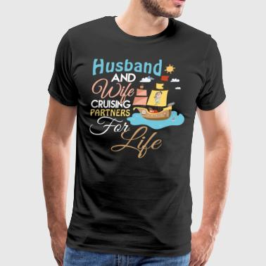 Husband And Wife Cruising T Shirt - Men's Premium T-Shirt