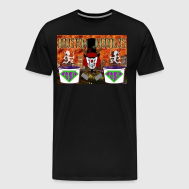 Houston Juggalos Banner Logo - Men's Premium T-Shirt