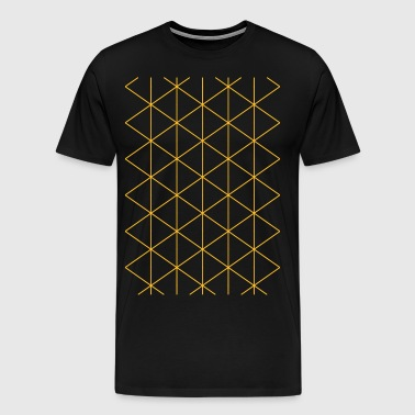 Geometric Graph - Men's Premium T-Shirt