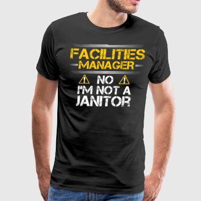 Facilities Manager/Management/Janitor/Gift/Present - Men's Premium T-Shirt