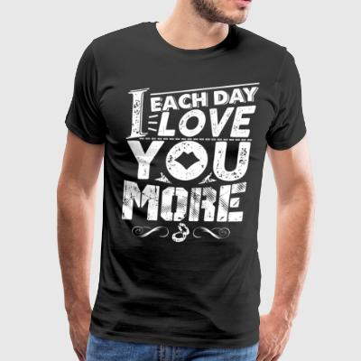 Love You - Men's Premium T-Shirt