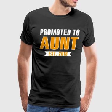 Promoted To Aunt Est. 2018 - Men's Premium T-Shirt