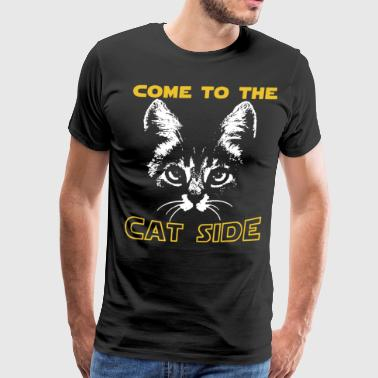 Come to the cat side - Men's Premium T-Shirt