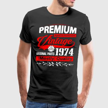 Aged to Perfection 1974 - Gift Idea - T-shirt - Men's Premium T-Shirt