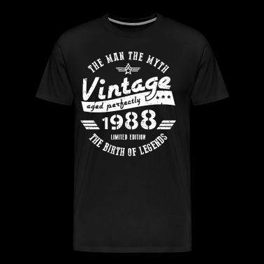 30th Birthday Gift For Men 1988 - Men's Premium T-Shirt