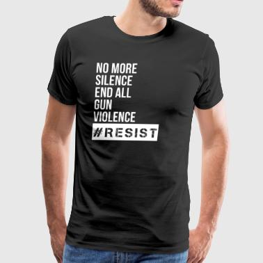 End all gun violence. - Men's Premium T-Shirt