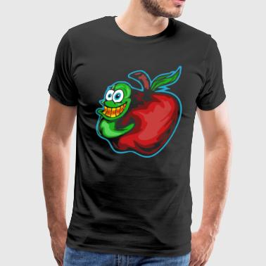 Apple Invader T shirt - Men's Premium T-Shirt