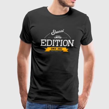 Special Seriously Limited Edition Since 2002 Gift - Men's Premium T-Shirt