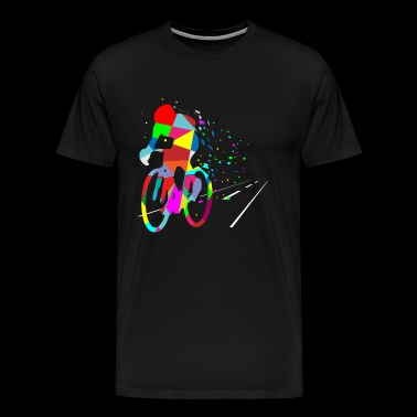Cycling Forever - Cyclist Bicycle Bike Competition - Men's Premium T-Shirt