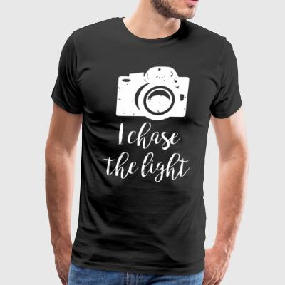 i chase the light - Men's Premium T-Shirt