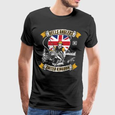HELLS ANGLERS UNITED KINGDOM fishermen angler UK - Men's Premium T-Shirt