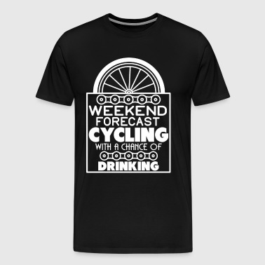Weekend Forecast Cycling T Shirt - Men's Premium T-Shirt