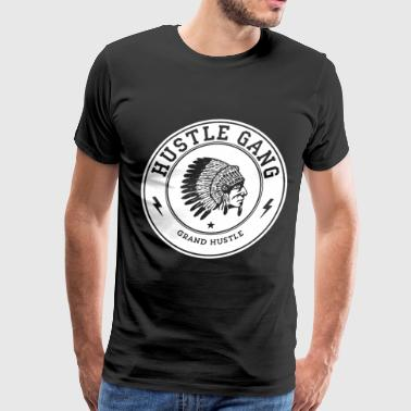 Hustle Gang Men Hustle - Men's Premium T-Shirt