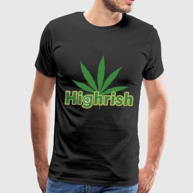 Highrish weed - Men's Premium T-Shirt