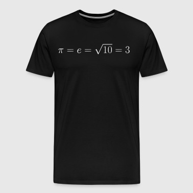 Everything is 3 gift present idea - Men's Premium T-Shirt