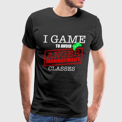 I GAME TO AVOID - Men's Premium T-Shirt