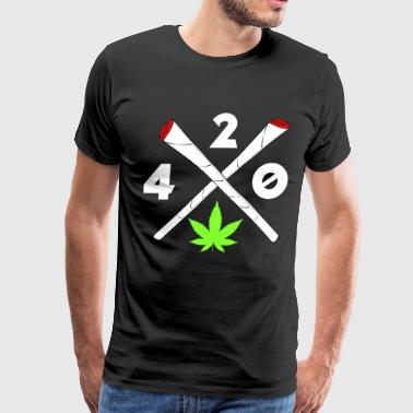 420 Cannabis Joints Cannabisleaf Gifts - Men's Premium T-Shirt