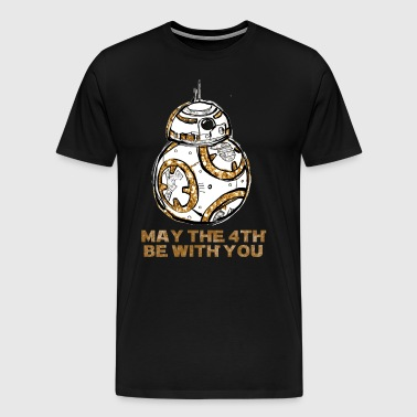 May the Fourth Be With You - Men's Premium T-Shirt