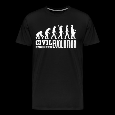 Civil Engineer Evolution Shirt - Men's Premium T-Shirt
