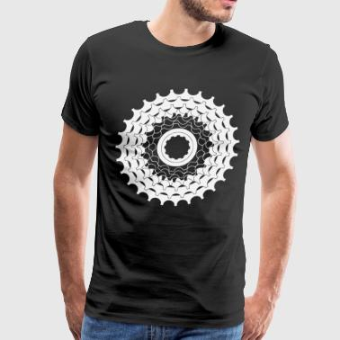 Cogs Cycling Mountain Bike Gift - Men's Premium T-Shirt