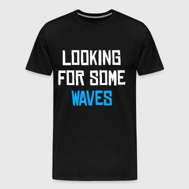 Beach - Surfer - Wave - Men's Premium T-Shirt