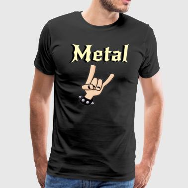 Metal Music Shirt - Gift For Metal Music Lovers - Men's Premium T-Shirt