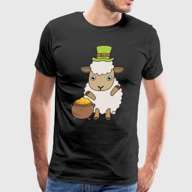 Irish Sheep Farmer St Patrick's Day Gift - Men's Premium T-Shirt