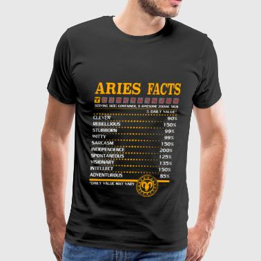 Aries Facts - Men's Premium T-Shirt