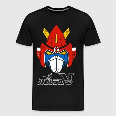 Chōdenji Machine Voltes V - Men's Premium T-Shirt