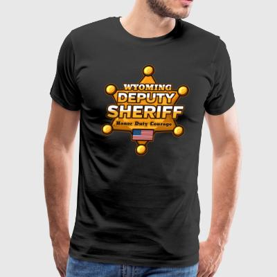 Wyoming Deputy Sheriff - Men's Premium T-Shirt