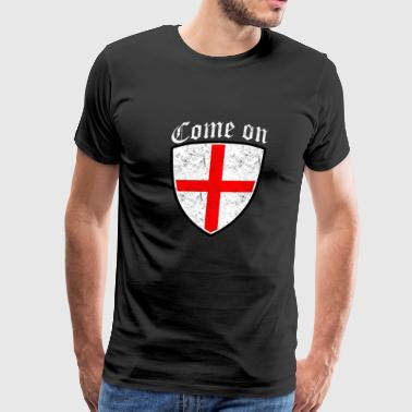 Come On England - Men's Premium T-Shirt