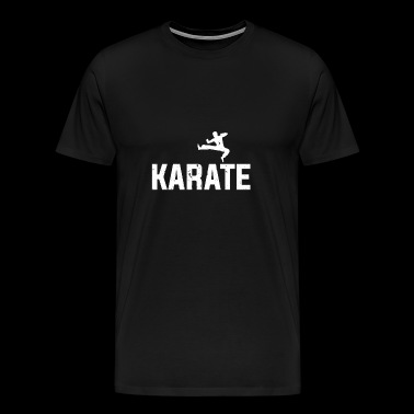 Karate combat sport - fighting - gift - Men's Premium T-Shirt